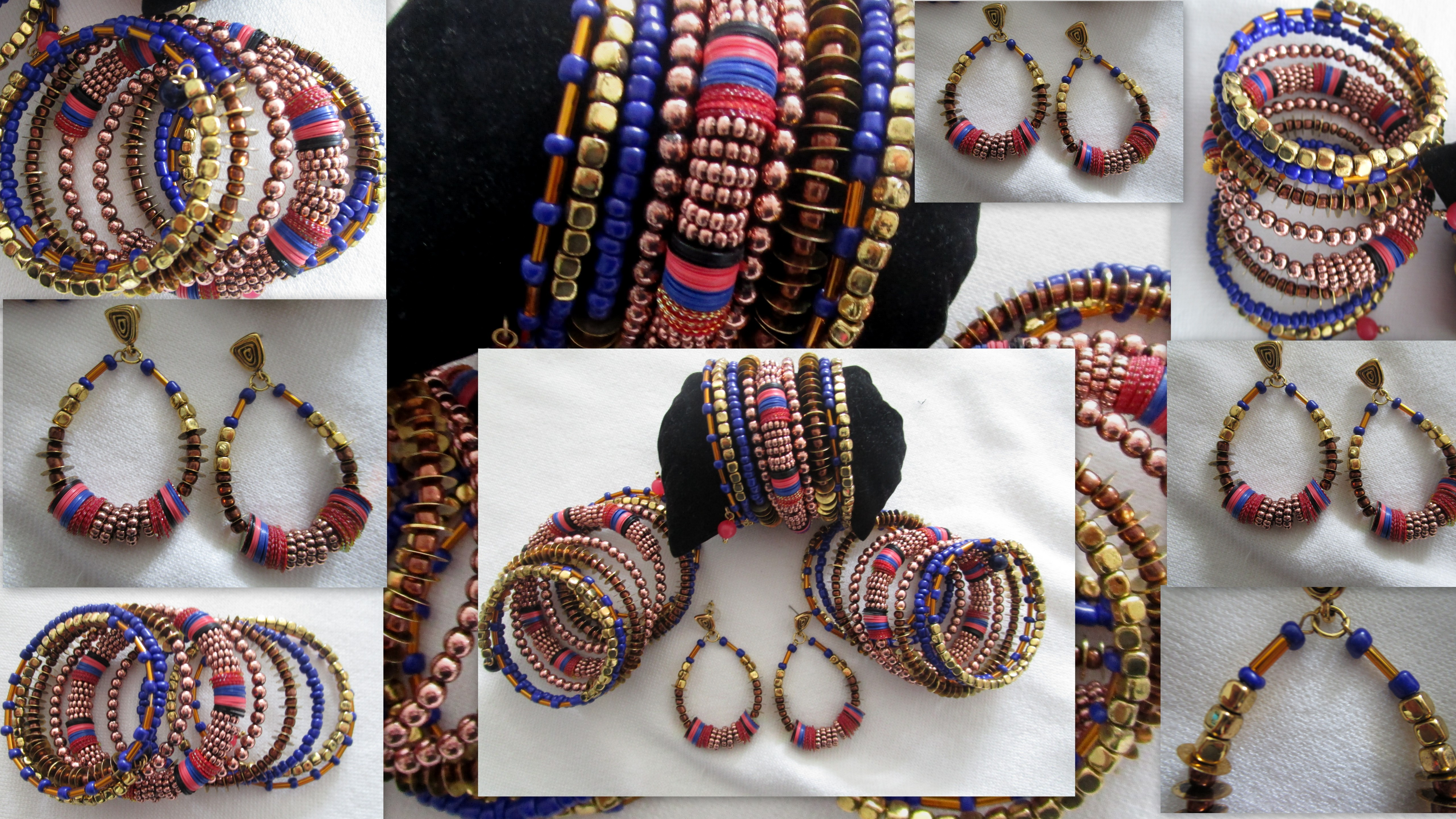 The Maasai Bracelet Amp Earring 171 Louis Dell Olio